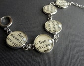Literary Bracelet, To Kill a Mockingbird, Book Bracelet, Gift for Teacher, Banned Books, Teacher Gift Idea, Harper Lee, Grad Gift Idea