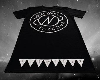 Novel Ways Logo Tall Tee - Black