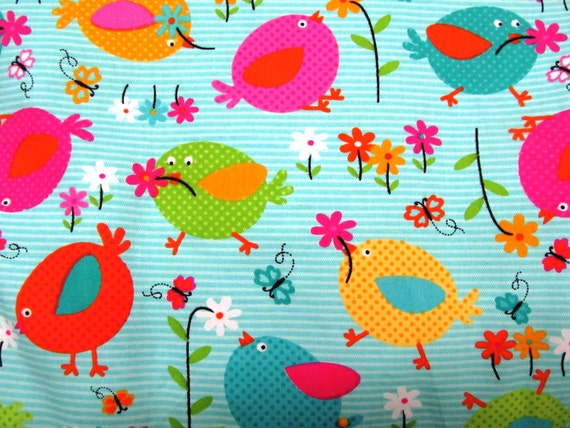 Graco Pad Replacement High Chair Cover Puff Birds