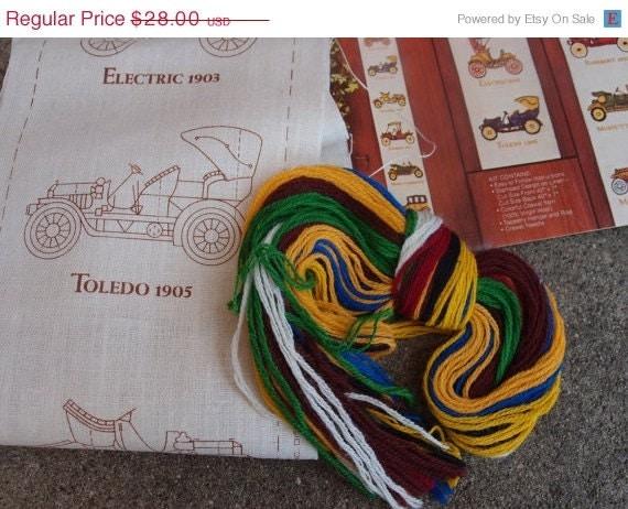 SALE SALE SALE Vintage Crewel Embroidery Kit Avon