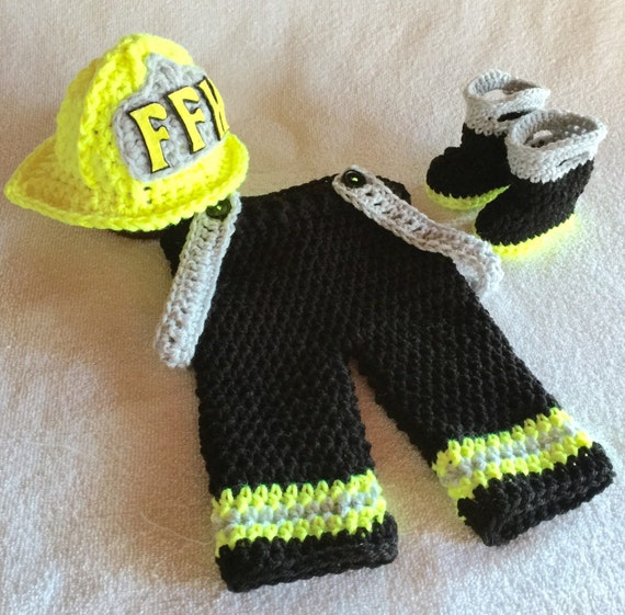 Firefighter baby clothes boy firefighter by babypropsbyconnie