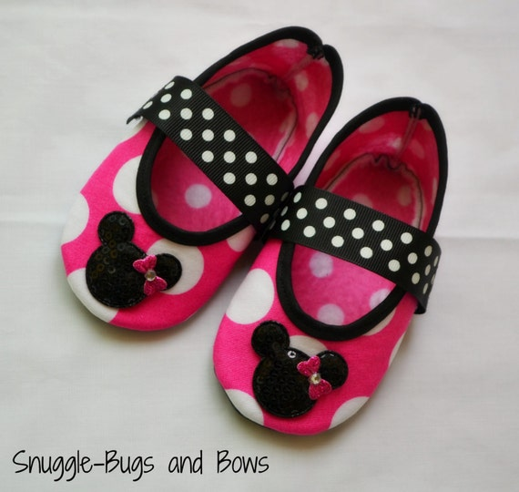pink minnie mouse play shoes toddler sizes 6 by