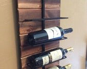 Wall wine Rack for 9