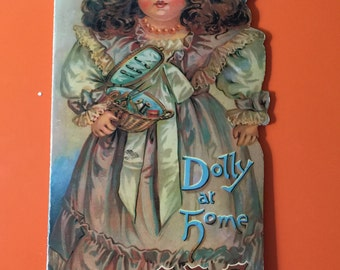 Dolly At Home ABC Antique Reproduction Children's Book Merrimack Publishing