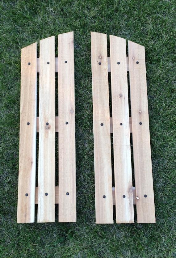 Barnwood Shutters Reclaimed Barnwood Shutters Cedar Shutters By