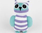 Handmade Sock Owl Stuffed Animal Doll Baby Toys Christmas Gift New year Gift Birthday Gift