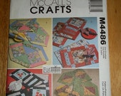 McCalls Sewing Pattern M4486 Placemats, Napkins, Table Runner - Never Used - As Is No Refunds