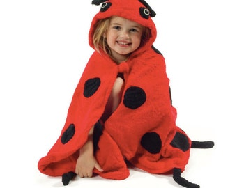 Ladybug Bath robe for kids