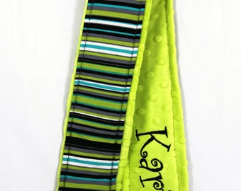 Personalized Camera Strap Cover ... Name on back side - Pick your favorite from this Michael Miller Line-