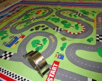 Race Track Fabric Etsy