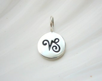 Sterling Silver Capricorn Zodiac Charm - Add On - Astrological Sign
