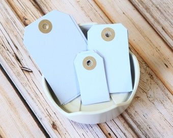 PALE LILAC Reinforced Luggage Tags