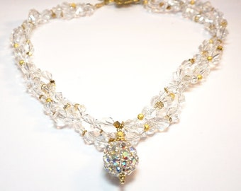 Ice Crystals Necklace