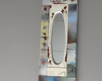 decorative mirror - Vintage Oval - feng shui
