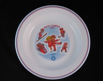 Olympic Winter Games 1984 Yugoslavia Campbells Soup Kids Bowl
