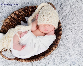 Newborn Elf Hat, Photography Props For Newborns, Baby Boy Elf Hats, Mothers Day Gift for New Mom, Elf Hat For Baby Girl, Newborn Photo Props
