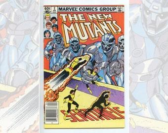 Marvel Comics The New Mutants #2 April 1983