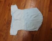 Knit summer onesie