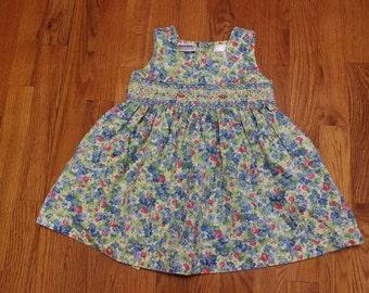 Size 2T smocked dress