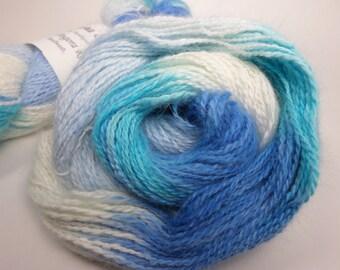 Angora Yarn - Space Dyed Blues