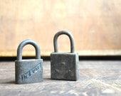 Vintage Pair of Locks E2065