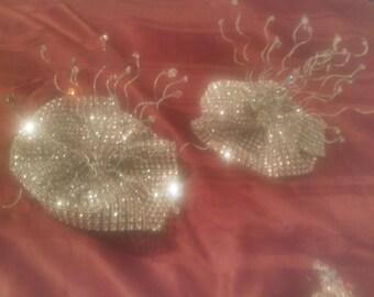 Swarovski Crystal Wrist Corsage for Proms, Sweet 16, Weddings