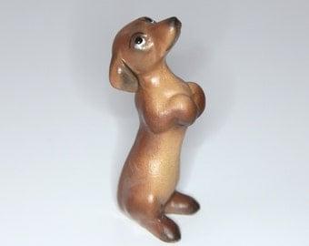 Vintage Hagen Renaker DW Greta the Dachshund Pup