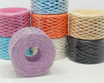 100m  Spool of Lilac Paper Twine