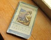 1911 Poetry - Things Beautiful by Samuel Francis Woolard. Vintage Paper. Vintage Decor.