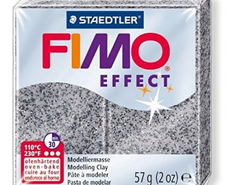 FIMO Effect Oven-hardening modelling clay, standard block 56g 8020-803 Stone Granite