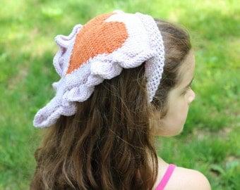 Headband KNITTING PATTERN- Heart Bandana PDF knitting pattern