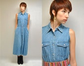 Chambray Dress  //  Denim Dress  //  THE COUNTRIFIDE