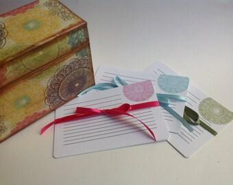 Lacy Design Custom Recipe Cards