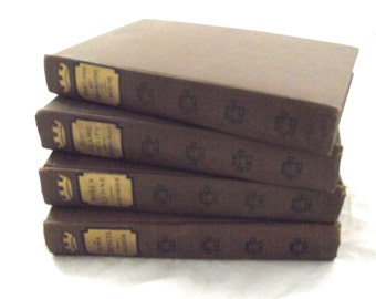 Foreign Classical Romances Book set, Lot of 4 Vintage Books (DB4)