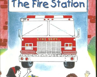 Your CHILDS Personalized Gift My Trip To The Fire Station Book ships PRIORITY MAIL in 24 Hours