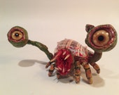 Zombie Snail Monster Sculpture: Yog-Soth-Snail