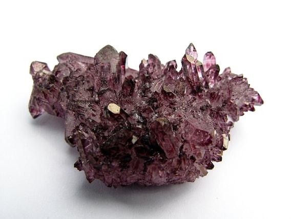 GARNET Aura Quartz NEW COLOR  Dark Vamp Red #11 Free Shipping by aurazencrystals