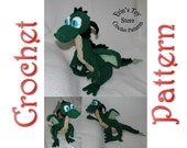 Puff the Silly Dragon a Crochet Pattern by Erin Scull