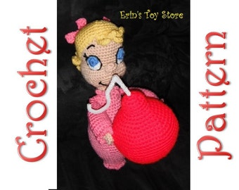 Cindy Lou a Crochet Pattern by Erin Scull