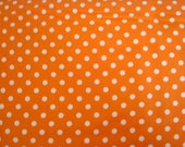 Tangerine Dumb Dot Fabric by Michael Miller - 1 Yard