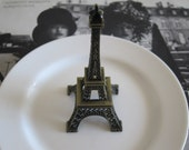 Eiffel Tower Ring Dish Eiffel Tower Trinket Dish French Shabby Chic Decor Jewelry Dish Vanity Accessory Boudoir French Maison Paris Decor
