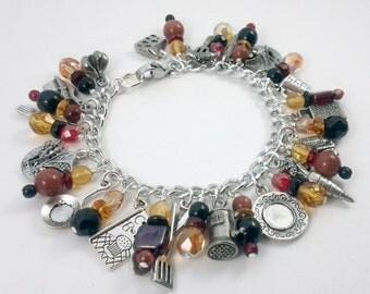 Hot Chef Charm Bracelet