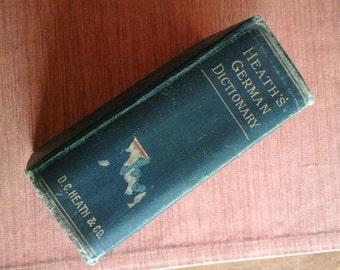 1906 Heath's German Dictionary