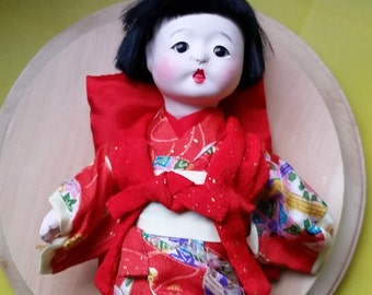 vintage japanesse doll