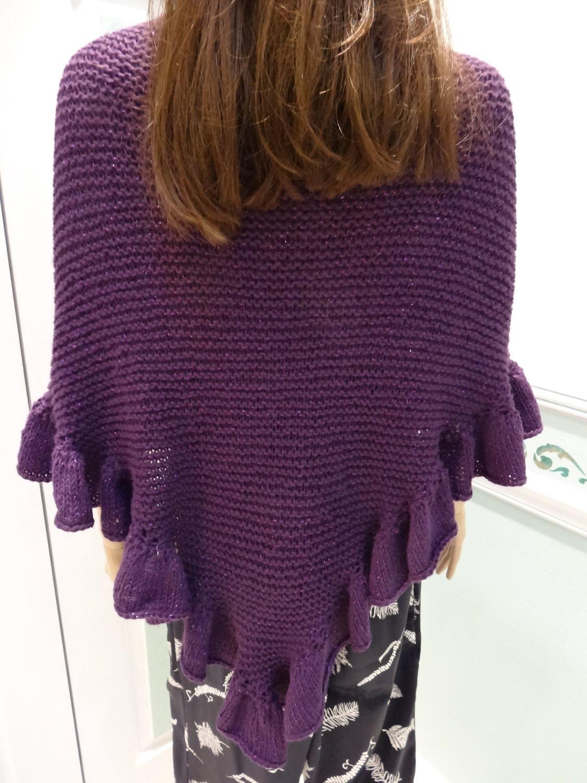 Knitting Pattern For Kate Middleton s Shawl : HAND KNITTED SHAWL/Cape : Pincess Kate Middleton by UptownKnits