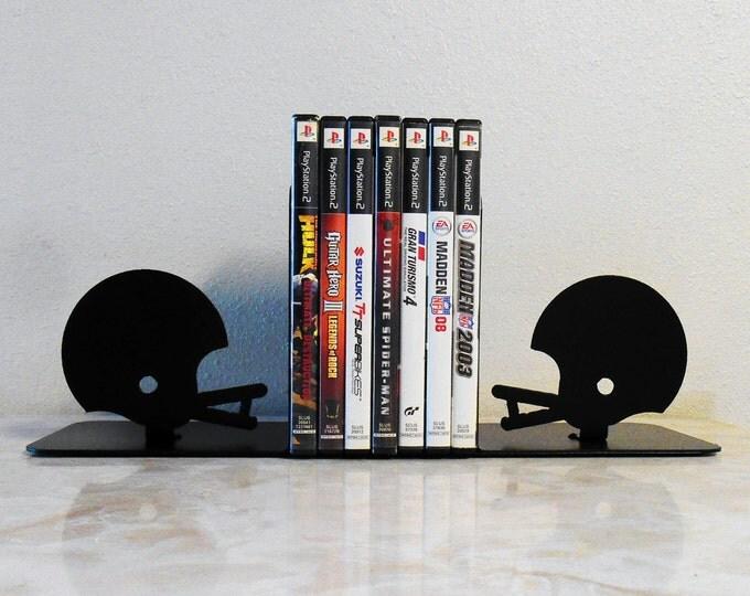 Football /Metal Art Bookends / Video Games / Organizer