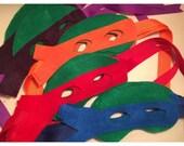 Set of 12 TMNT inspired Party Favor Masks