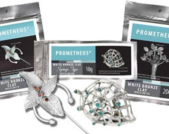 Prometheus White Bronze Metal Clay
