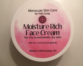 Moisture Rich Face Cream - Moroccan Skin Care