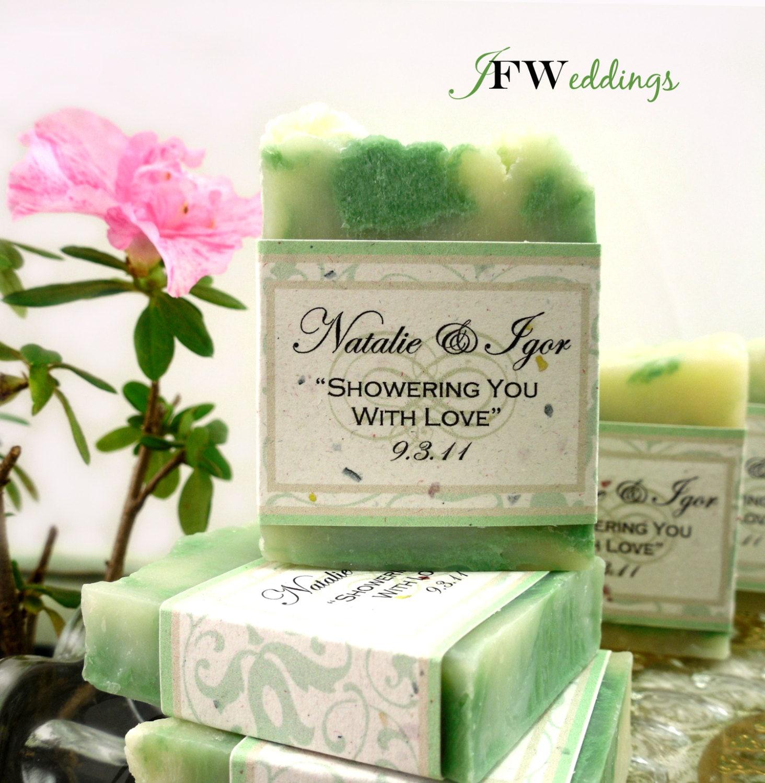 Wedding Gift Ideas Vegan : 30 Vegan SOAP Favors Bridal Shower Weddings Green